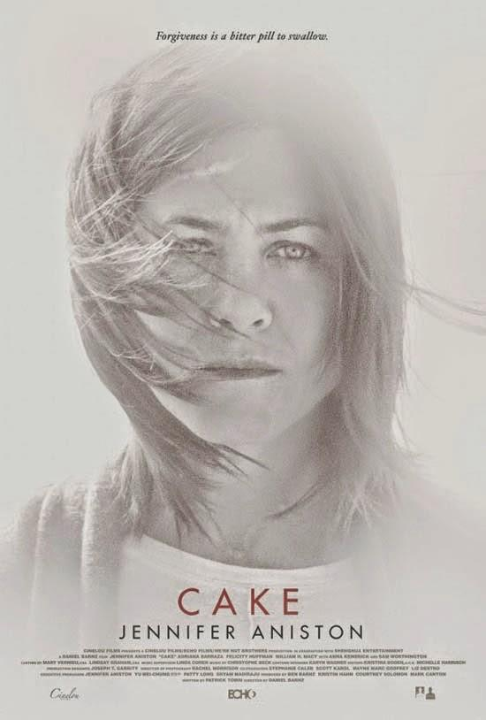 Poster from the movie Cake: www.cakemovie.net